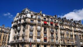 paris fasadowy budynek Zdjęcia Stock