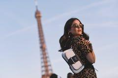 Paris Fashion Week - street style - PFWAW19 royalty free stock photo