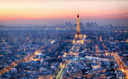 Free PARIS - FEBRUARY 3: Eiffel Tower At Night On February 3, 2015 In Royalty Free Stock Photos - 65916338