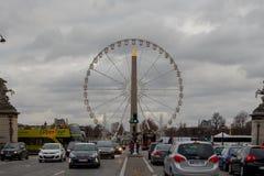 paris Ferris Wheel Royaltyfri Foto