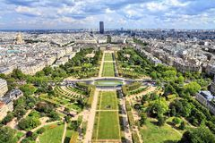 Paris Field of Mars Royalty Free Stock Images