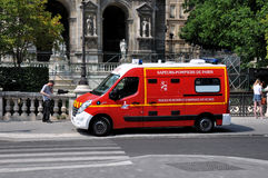 Paris Fire Brigade Stock Photos