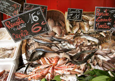 Paris fish market Royalty Free Stock Photography