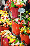 Paris Flower Market Stock Photography