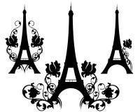 Paris in Flowers Royalty Free Stock Photos