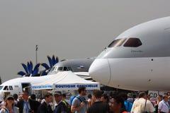 Paris flygshow Royaltyfri Bild