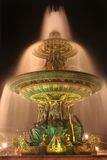 Paris fountain Royalty Free Stock Images