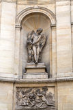Paris -  Fountain of the four seasons. Royalty Free Stock Photo