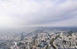 Paris från ovanför pt1 Arkivfoton