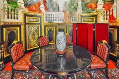 PARIS, FRANÇA - 3 DE JULHO DE 2016: Apartamentos de Napoleon III lou foto de stock royalty free