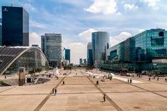 Paris, França - 3 de maio de 2011: Distrito da defesa do La Foto de Stock