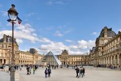 Paris, França 11 de outubro 2017 O Louvre ou o museu do Louvre, i Imagens de Stock Royalty Free