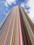 PARIS, FRANÇA - EM OUTUBRO DE 2012: Coluna de Moretti na defesa do La Fotos de Stock