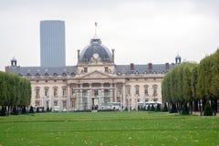 PARIS, FRANÇA, o 23 de abril de 2016, instituto de estudos altos da defesa fotografia de stock royalty free