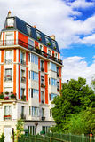 Paris.France都市看法。 免版税库存照片