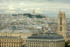 Paris - France. Landscape of Paris. with MontMatre  - France Royalty Free Stock Image
