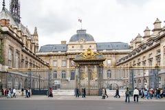 PARIS, FRANCE, 26 APR 2016. Conciergerie prison in Palais de Justice stock images
