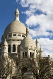 Dome and cupolas of Sacre-Coeur Royalty Free Stock Image