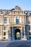 PARIS, FRANCE - april 22, 2016:The Louvre palace Royalty Free Stock Images