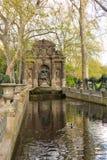 Paris, France - APRIL 9, 2019: Medici Fountain in the Luxembourg Garden, Paris. France stock photos