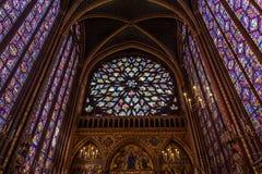 Paris, France, April 1, 2017: The Sainte Chapelle Holy Chapel in Paris, France. Stock Photo