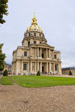 Paris. FRANCE -AUGUST 8: Chapel of Saint Louis des Invalides on August 8, 2014 in . Chapel built in 1679 is the burial site for some of France's war heroes Royalty Free Stock Photography