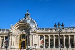 PARIS - FRANCE - AUGUST 30, 2015: Famous Grand Palais Big Palace in Paris. Royalty Free Stock Images