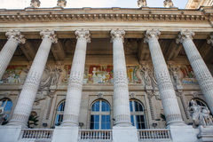 PARIS - FRANCE - AUGUST 30, 2015: Famous Grand Palais Big Palace in Paris. Royalty Free Stock Photography