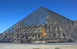 Glass Pyramid of Louvre Museum