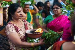 Ganesh Chturthi hindu festival celebration Royalty Free Stock Photos