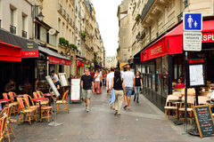 Paris. FRANCE - AUGUST 09, 2015: streets of . , aka City of Love, is a popular travel destination and a major city in Europe Stock Photos