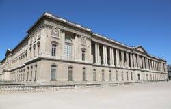 Paris, France - August 18, 2018: Wide Palace of Louvre Museum