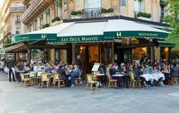 The cafe Les Deux magots,Paris, France.