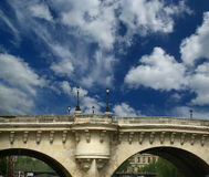 Paris, France. Bridge over the River Seine Royalty Free Stock Photography