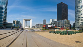 PARIS FRANCE Business district La Defense Stock Images