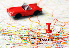 Paris ,France cabrio Royalty Free Stock Photo