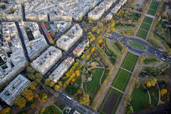 Paris, France. Champ de Mars. Royalty Free Stock Photos