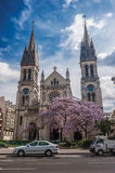 Paris, France . Church of Saint Ambroise on the Boulevard Volta Royalty Free Stock Photo