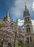Paris, France . Church of Saint Ambroise on the Boulevard Volta Stock Images