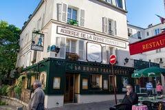 PARIS, FRANCE - circa april 2016; Small business in : Montmartre in Paris Stock Images