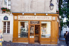 PARIS, FRANCE - circa april 2016; Small business in : Montmartre in Paris Royalty Free Stock Photography