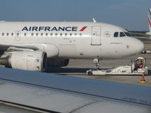 Air France Airbus A319 taxiing Royalty Free Stock Photo