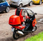 BMW C1 enclosed scooter manufactured by Bertone for BMW royalty free stock photo