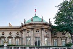 PARIS, FRANCE, CIRCA  2016 - National Museum of the Legion of Honor and orders of Chivalry, facade. The Musée national de la Légion d`Honneur et des Ordres de Royalty Free Stock Image