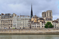 Paris, France. Cite island Royalty Free Stock Photography