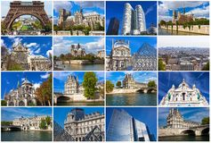 Paris in France Royalty Free Stock Photo