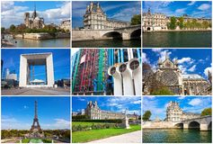 Paris in France Royalty Free Stock Images