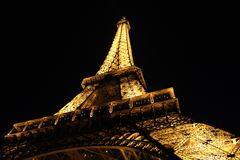 Paris, France and the Eiffel Tower Royalty Free Stock Images