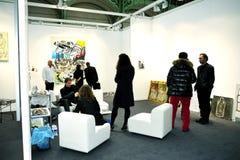 Paris, France, F.I.A.C. Arts Show. Paris, France, People Visiting Annual Contemporary Arts Show, FIAC, in Grand Palais, PS-52499 Stock Photo