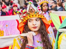 Chinese new year celebrations parade at Paris royalty free stock photo